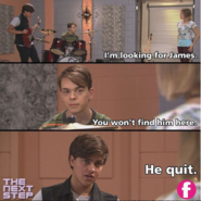 James quit the band!