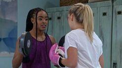 Davis and Kenzie Boxing