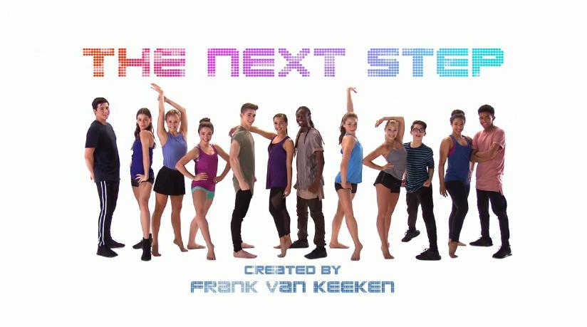 the next step cast ages