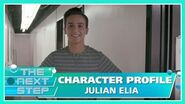 Character Profile Julian Elia - The Next Step