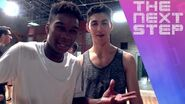 The Next Step - Behind the Scenes Trevor & Lamar Choreography (Episode 100 Spoilers)