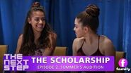The Next Step The Scholarship – Episode 2 Summer's Audition