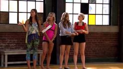 Phoebe Michelle Kate Emily tumbling audition