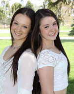 Cierra Healey and Skylar Healey