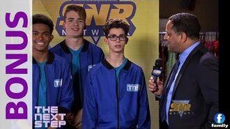 The Next Step - Season 6 BONUS - Regionals Interview with Chuck