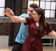 Finn teaches Piper to dance