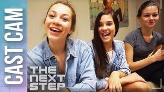 Cast Cam- Shelby Ghostbusts the Qualifier Video - The Next Step
