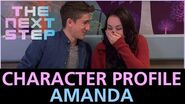 The Next Step - Behind the Scenes Character Profile - Amanda
