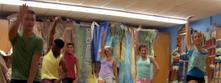 James, West, Chloe, Daniel, Riley, and Michelle Dance