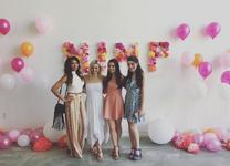 Taveeta, Victoria, Keara and Sarah