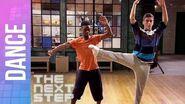 The Next Step - Daniel & West Hip-Hop Ballet Duet (Season 1 Episode 6)