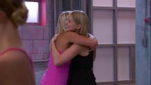 Tnr michelle and emily hug