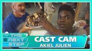 Cast Cam with Akiel Julien - The Next Step