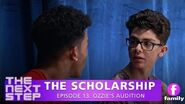 The Next Step The Scholarship – Episode 13 Ozzy's Audition