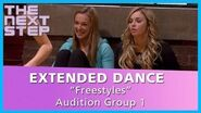 "The Next Step – Extended Dance Audition Group 1 ""Freestyles"""