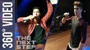 The Next Step Show the World - Wild Rhythm Tour Rap (360° VR Video)