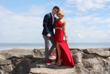 Myles and Briar. Prom