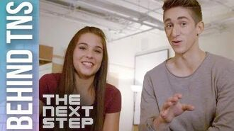 Behind the Scenes Noah, Jacquie, & Henry - The Next Step Season 5