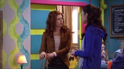 Eog giselle tells amanda she has news for her