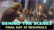 Behind the Scenes Regionals Final Day - The Next Step