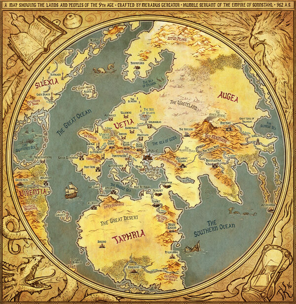 T9A World Map