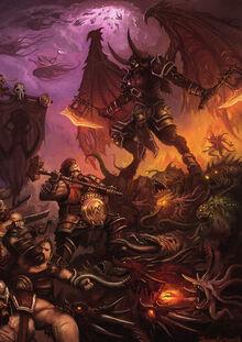 FRB Ogres vs Daemons