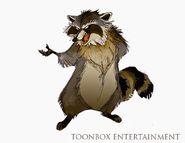 NutJob Raccoon concept