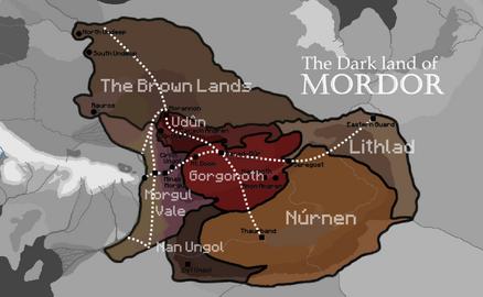 Mordorprovinces