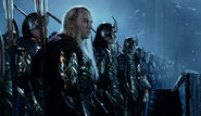 Wood-elves at Helms deep