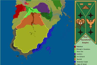 New Taurethrim Empire Provinces
