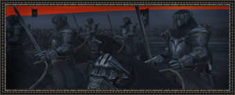 Black numenorians cavalry