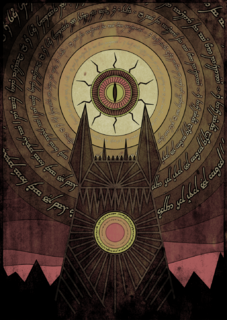 Eye of Sauron Graphic