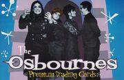 Osbournes trading cards