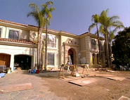 Osbourne house before finishing
