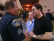 Ozzy meets police fan