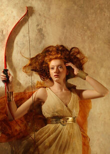 Artemis the huntress by thomasdodd