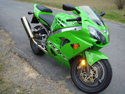 ZX-9R Crotch Rocket