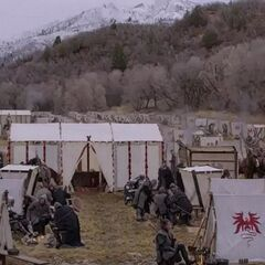 Recruitment camp outside the Outpost