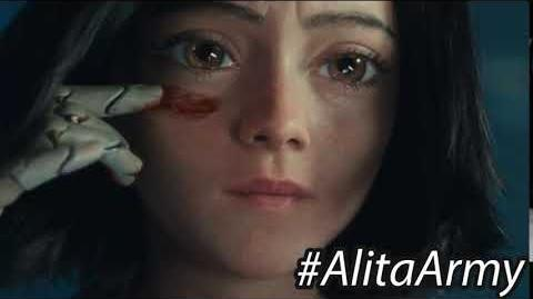 """""""I do not stand by"""" -AlitaArmy"""