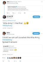 Alita Army beginning 01