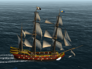 Military Galleon