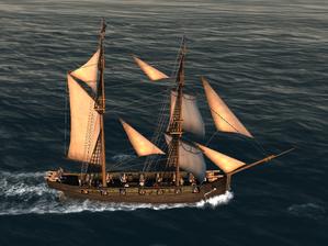 Military Brigantine