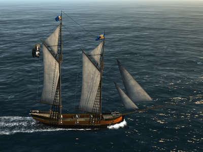 Schooner   The Pirate: Caribbean Hunt Wikia   FANDOM powered by Wikia