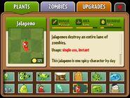 Jalapeno's almanac entry
