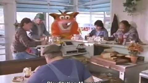 Classic Crash Bandicoot TV Commercials