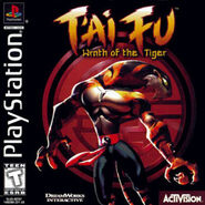 T'ai Fu Wrath of the Tiger NTSC