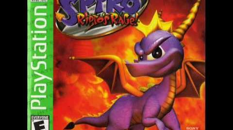 Spyro 2 Ripto's Rage - Title Screen Glimmer