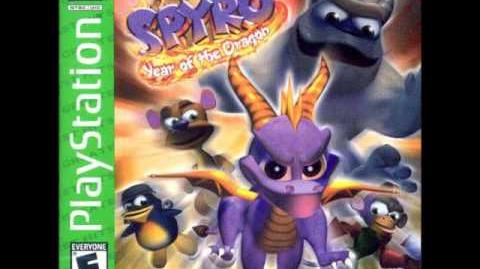 Spyro Year of the Dragon - Title Screen