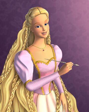 Rapunzel Barbie The Princess Wikia Fandom