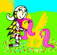 Kamira and Fluttershy